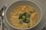 Lemon Ginger Chicken & Rice Soup