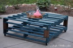 DIY Patio Table From Old Pallets