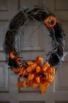 Easy DIY Spider Wreath