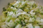 Spicy Cucumber Salsa