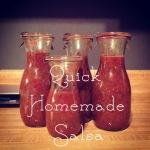 Quick Homemade Salsa