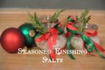 Seasoned Finishing Salts