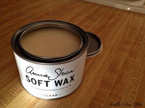 Clear soft wax