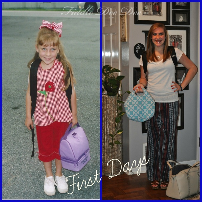 "12 years between her first ""First Day"" and her last."