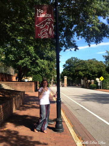 On the campus of the University of South Carolina in downtown Columbia