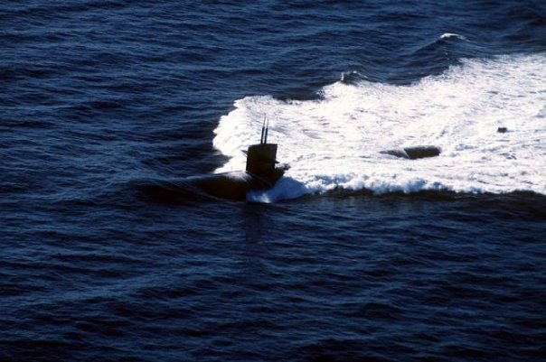 Audley's boat .... USS Omaha/SSN 662 out of Pearl Harbor, Hawaii