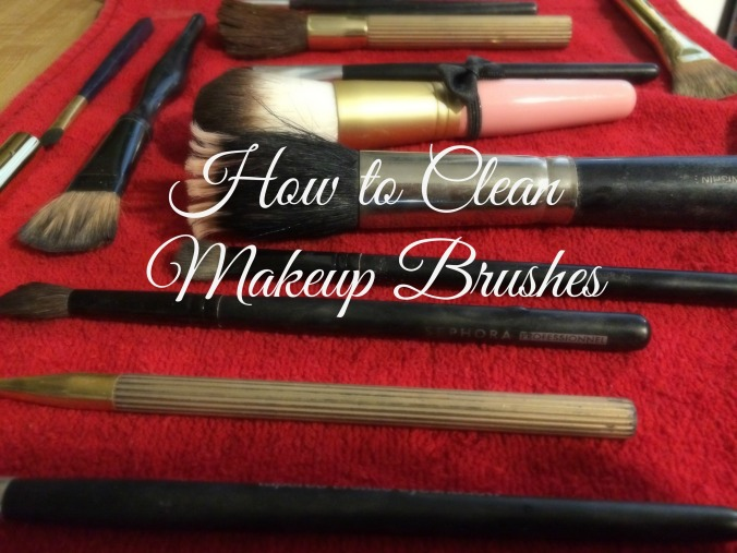 DIY How to clean Makeup Brushes