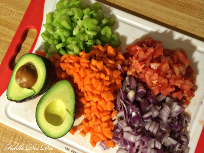 Don't you just love lots of color mixed in your meals?