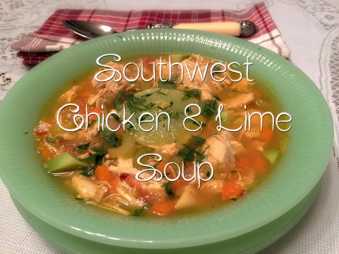 Southwest Chicken & Lime Soup