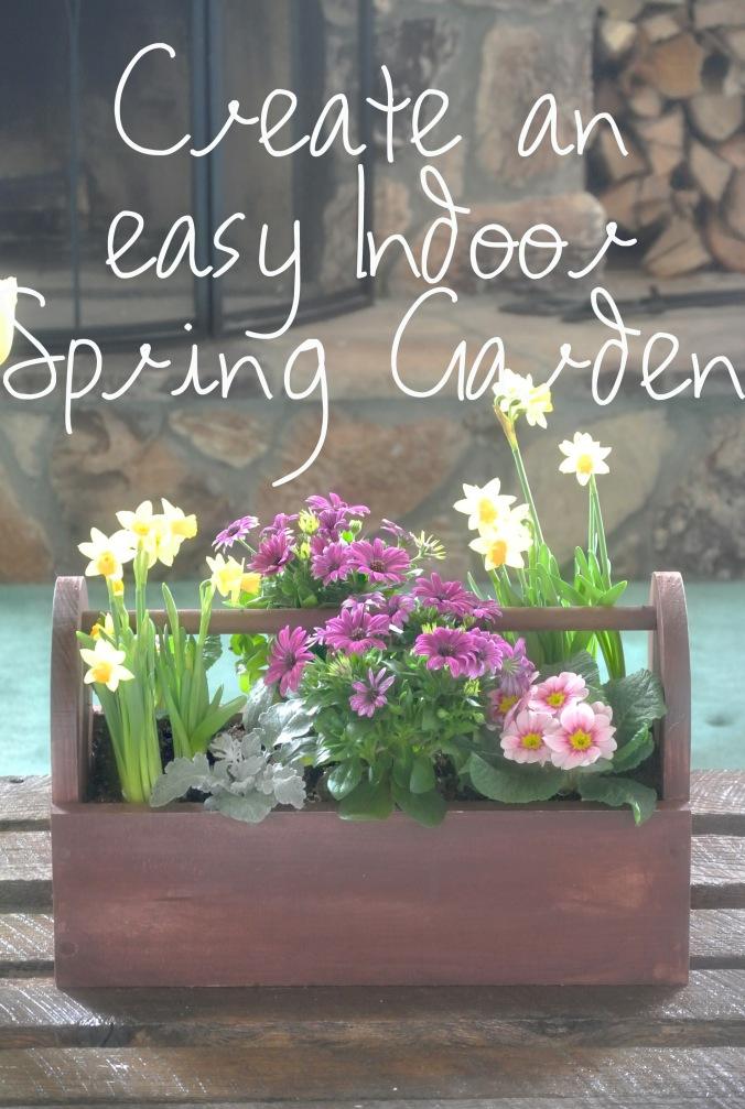 Creating an easy indoor garden