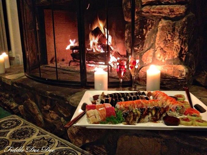 Sushi carpet picnic anyone?