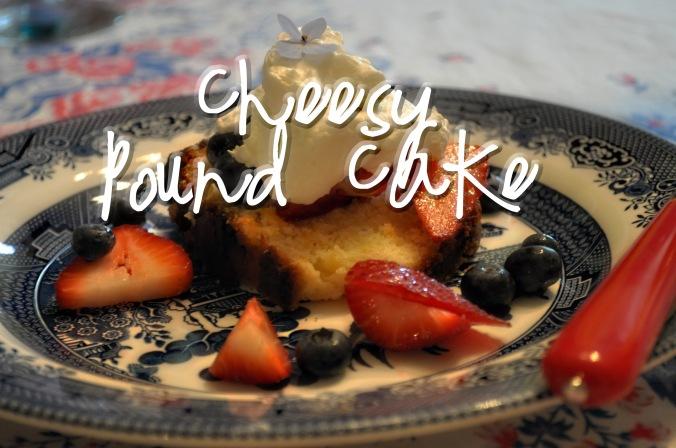 Cheesy Pound Cake