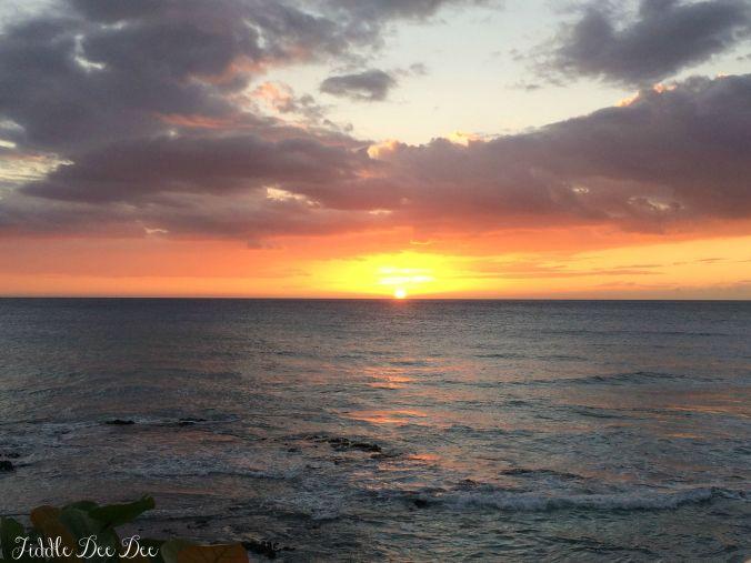 Lanai Sunset