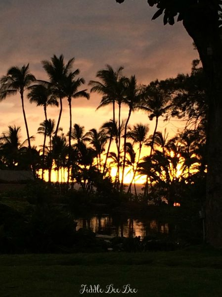 Our Last Sunset on the Big Island