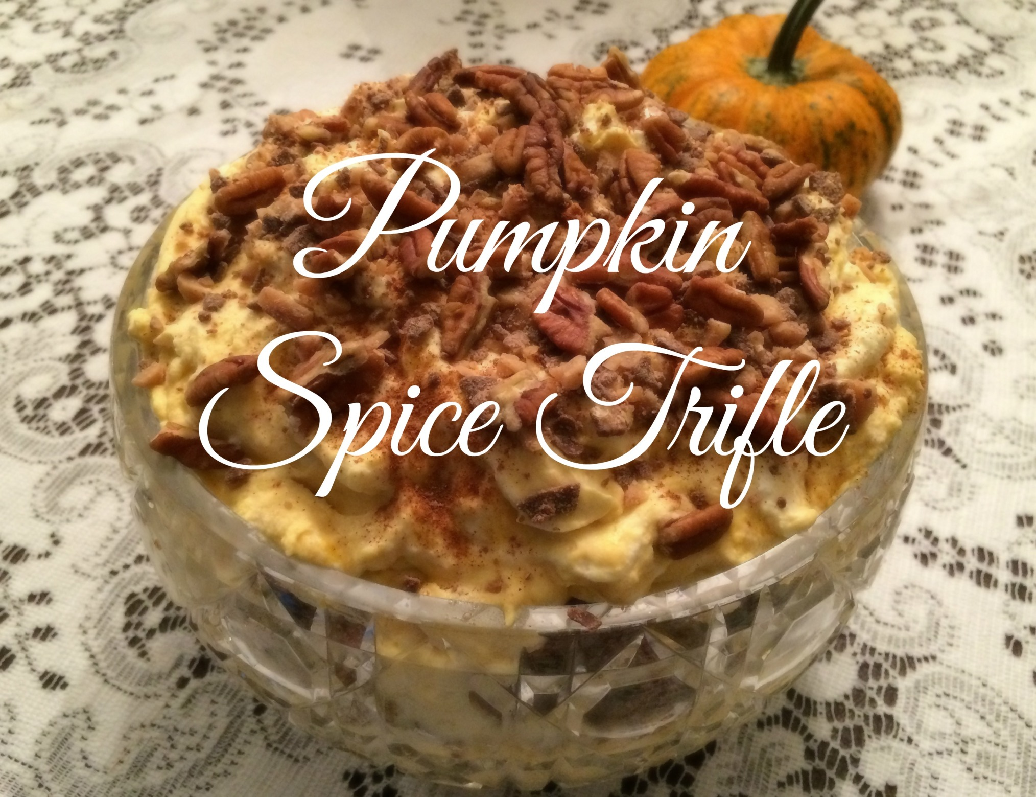 Pumpkin Spice Trifle