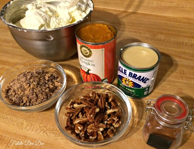 Pumpkin Triffle Ingredients