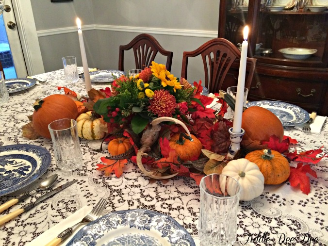Autumn centerpiece 2