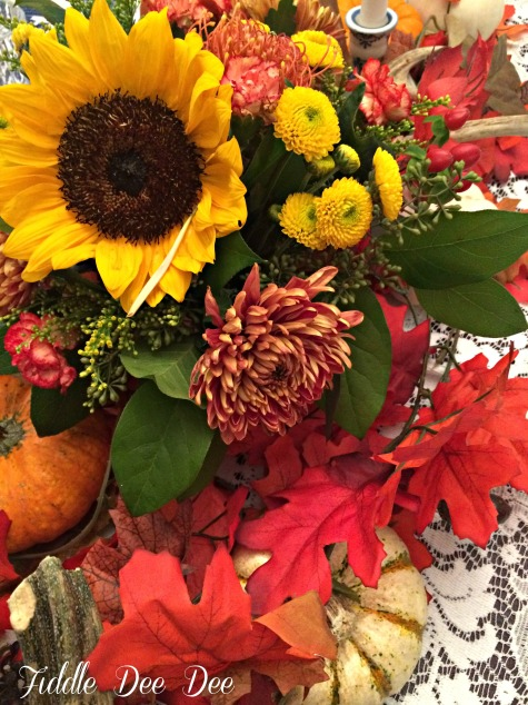 autumn centerpiece 3