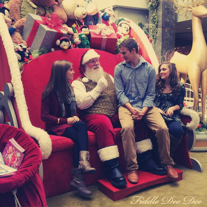 Yes, my teenagers still visit Santa Claus each year.