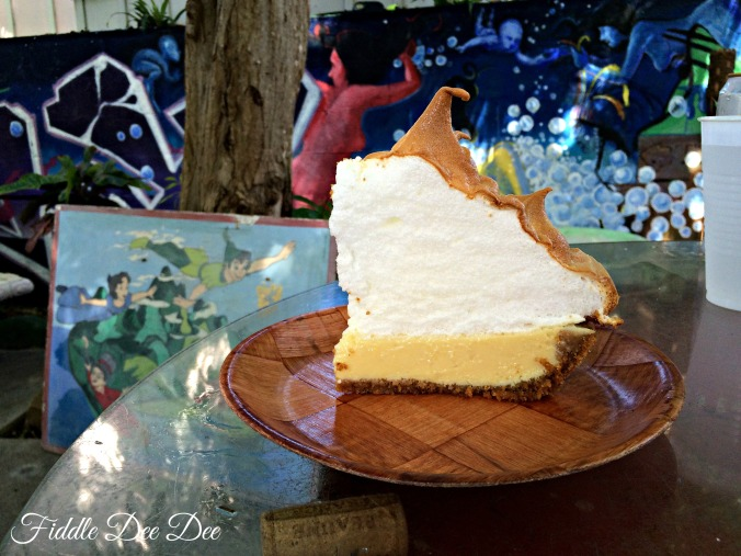 Blue Heaven Key Lime Pie