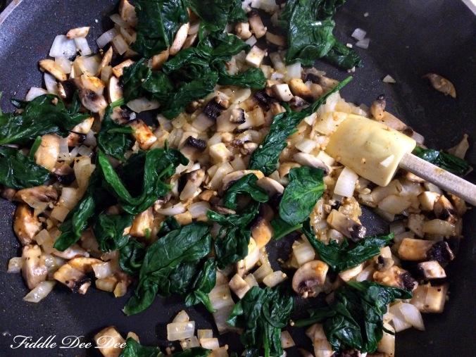 Spinach Mushroom Frittata 4