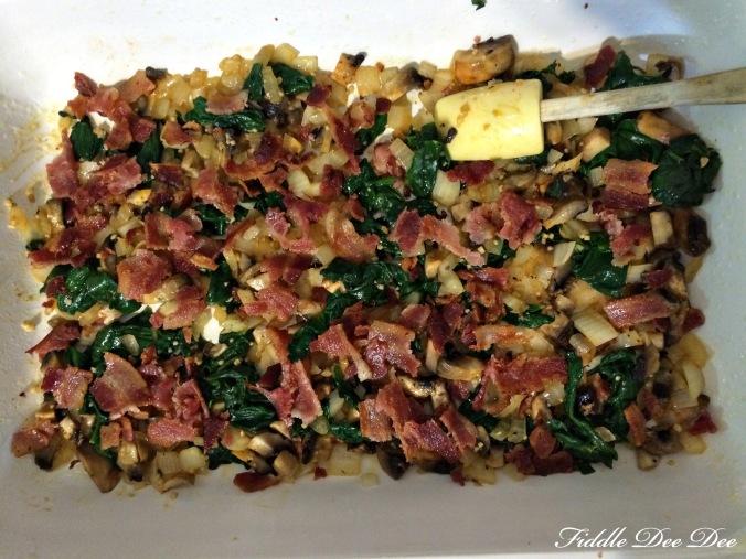 Spinach Mushroom Frittata 5
