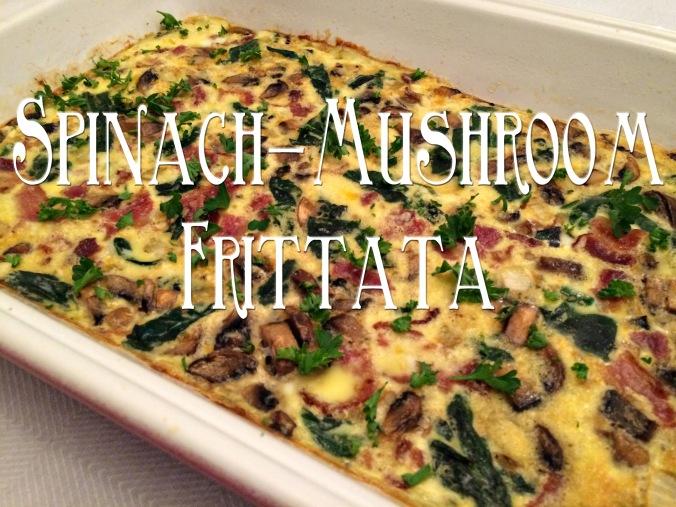 Spinach Mushroom Frittata 8