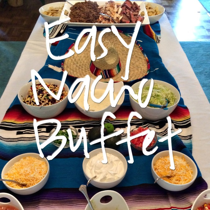 Easy Nacho Buffet