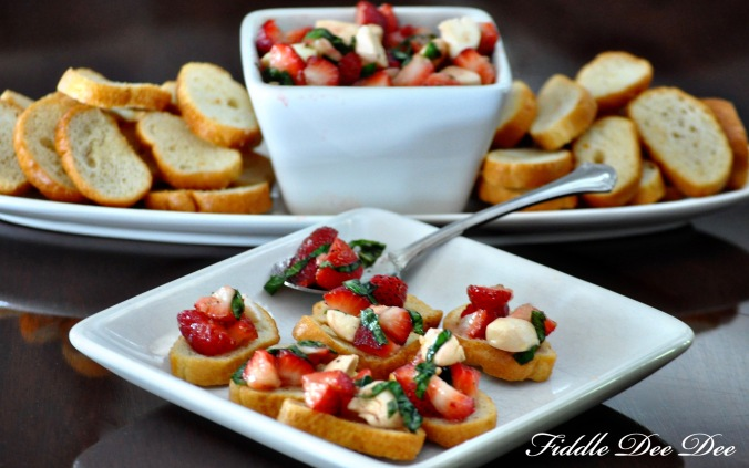Strawberry Caprese Salad4