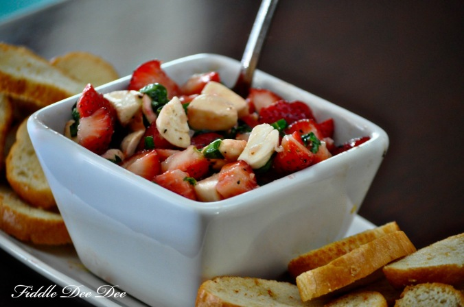 Strawberry Caprese Salad6