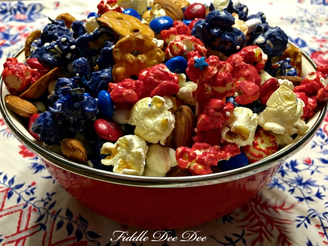 red white & blue snack5
