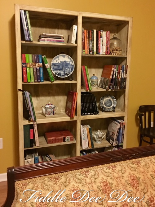 Chalk Paint Bookcase 2