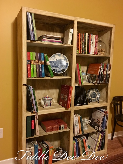 Chalk paint Bookshelf