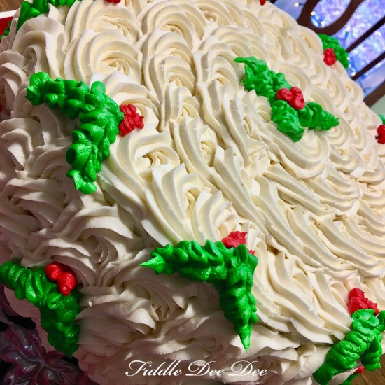 Christmas-Cake | oh-fiddle-dee-dee