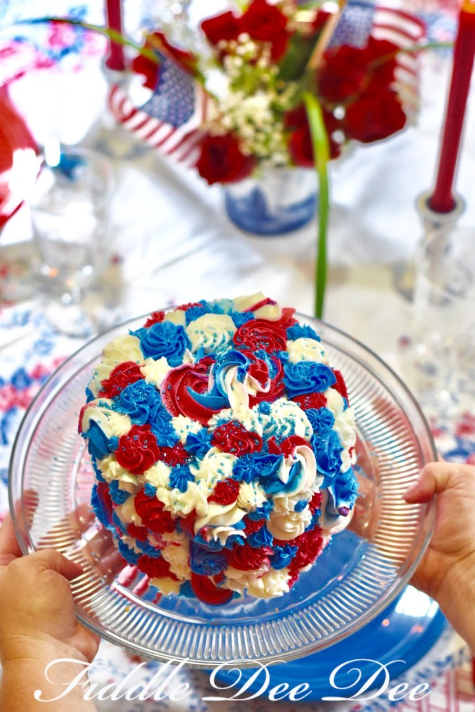 Independence-Day-Cake | Oh-Fiddle-Dee-Dee