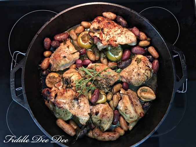 One-Pan- Easy-Chicken-Dinner | ohfiddledeedee.com
