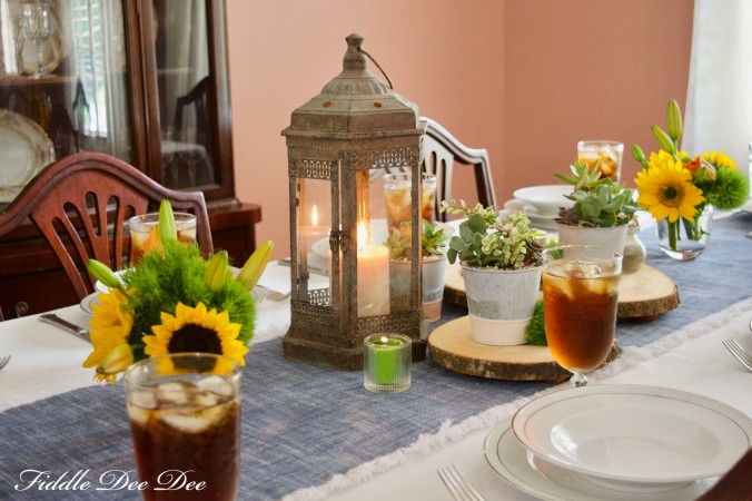 Fall-Birthday-Tablesetting | Fiddle Dee Dee