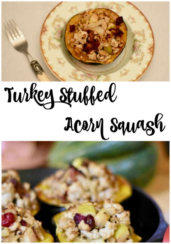 Turkey Stuffed Acorn Squash-2