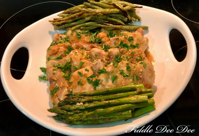 Chicken-Citrus-Garlic-Sauce-Dish | fiddle-dee-dee