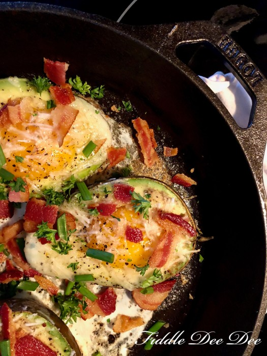 Baked-Egg-Acocado-Dish