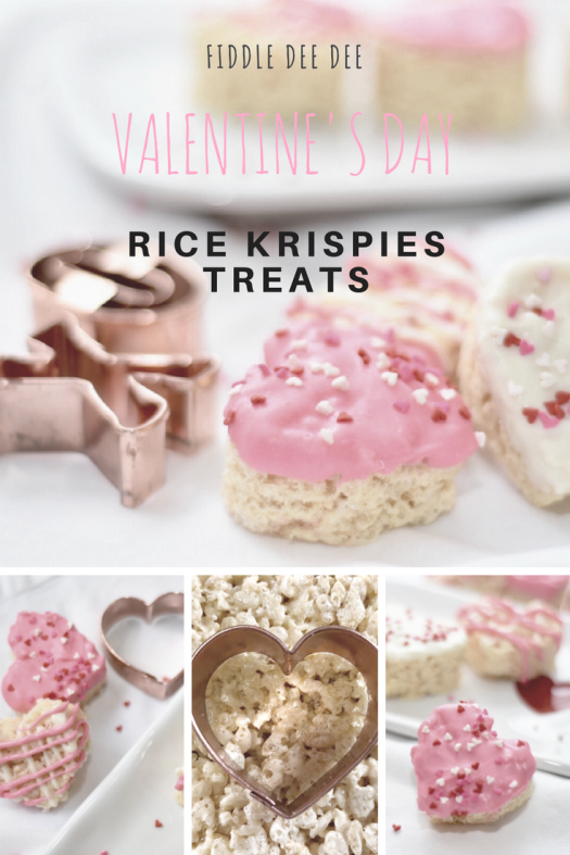 Rice Krispies Treats for Valentines Day