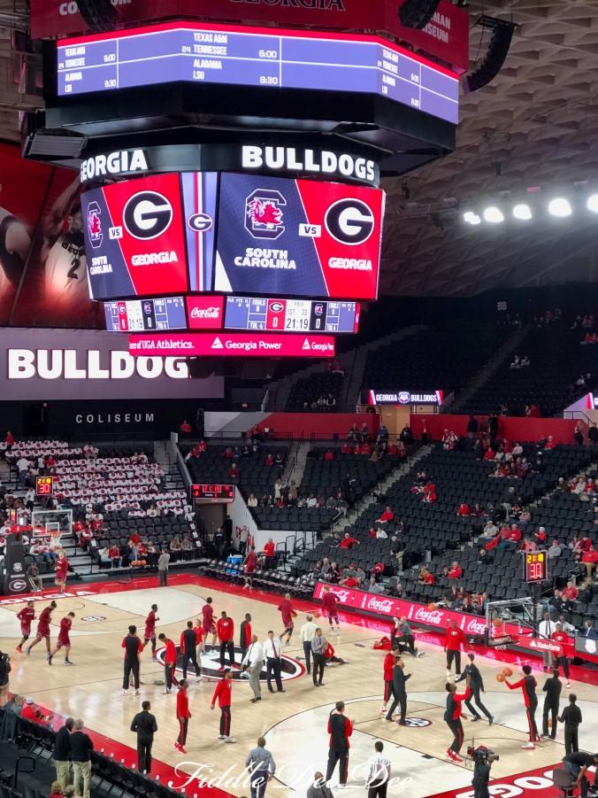 Georgia-Bulldogs-Basketball | Fiddle Dee Dee