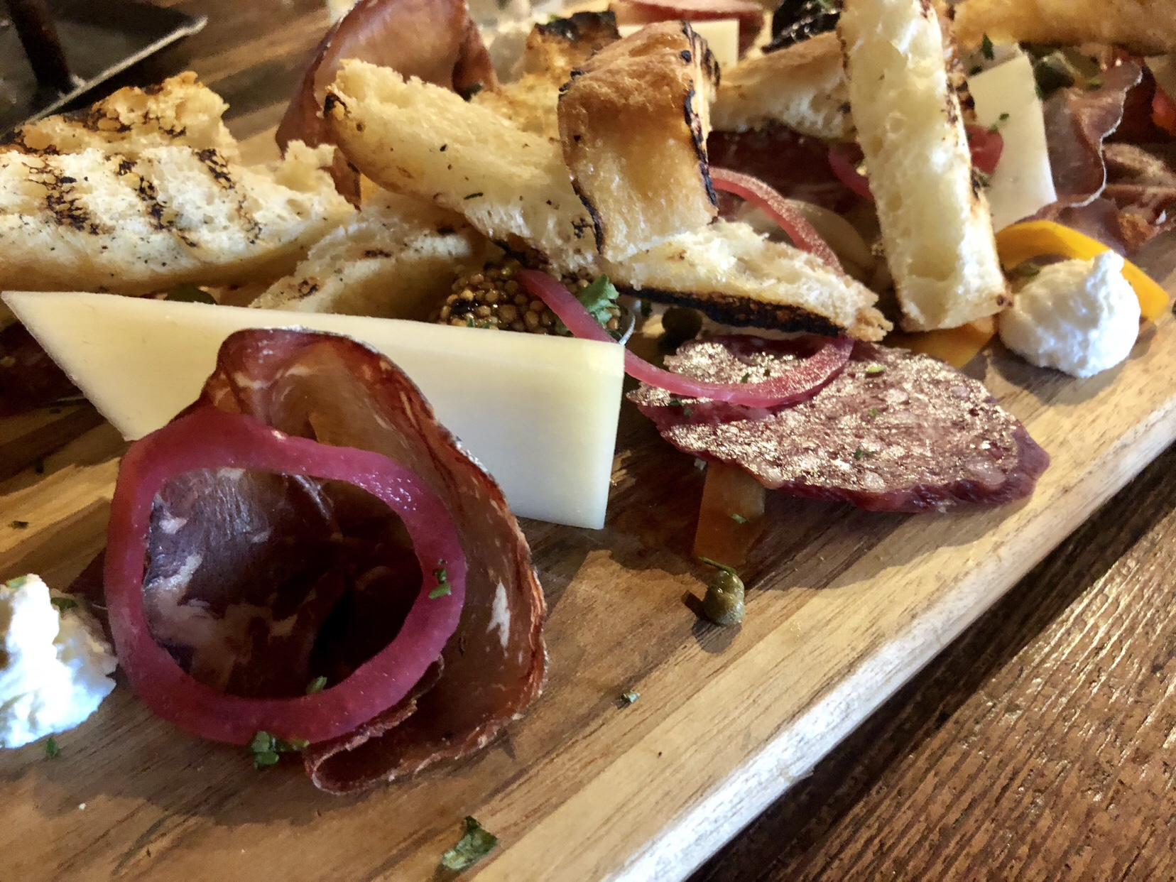 Selections from Charcuterie Station