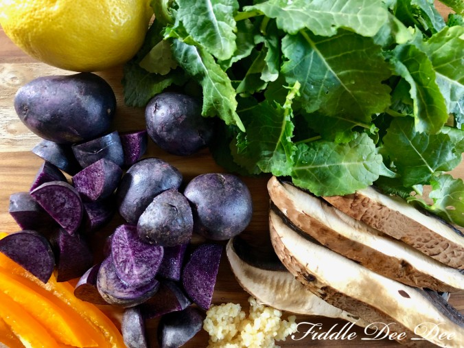 Kale-and-Potato-Soup-Ingredients | Fiddle Dee Dee