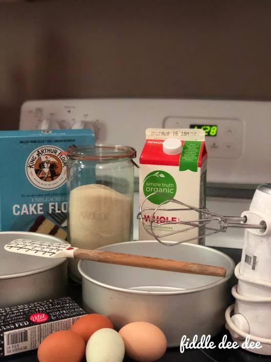Scratch Cake Ingredients