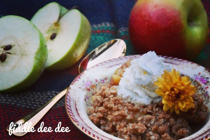 Apple Crisp / Fiddle Dee Dee