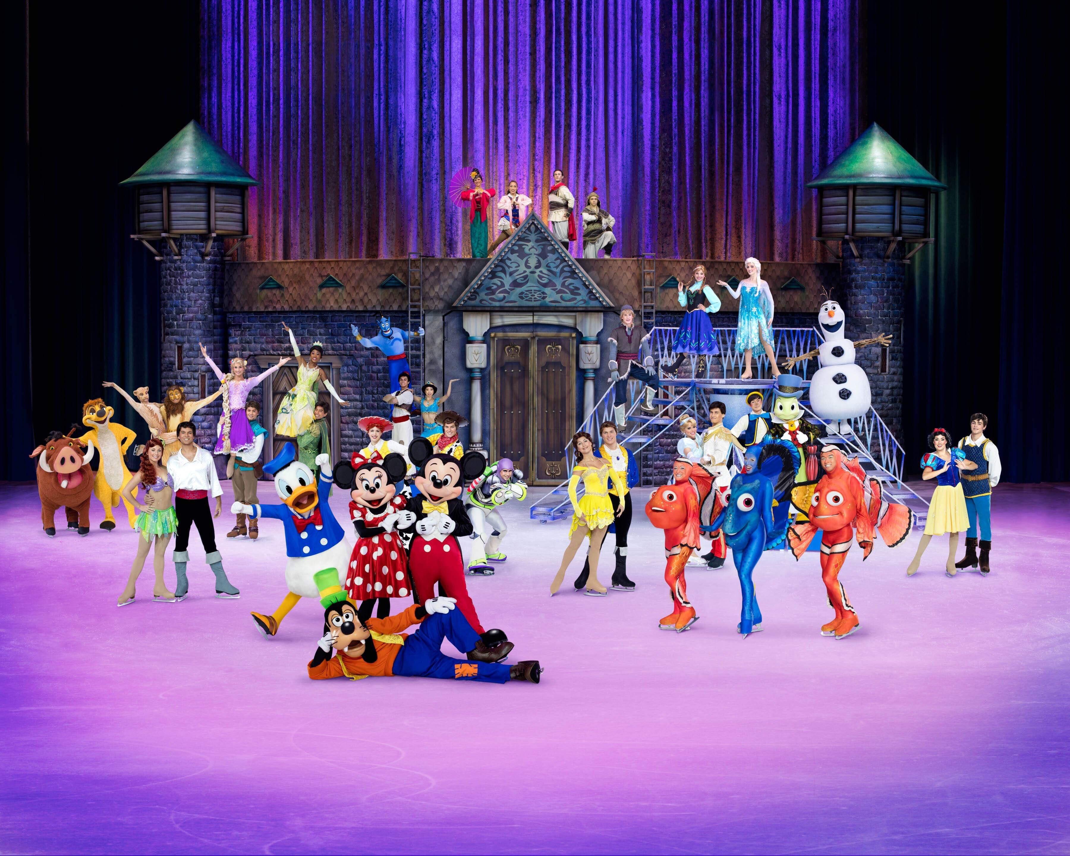 100 Years of Disney Magic on Ice /  Oh Fiddle Dee Dee