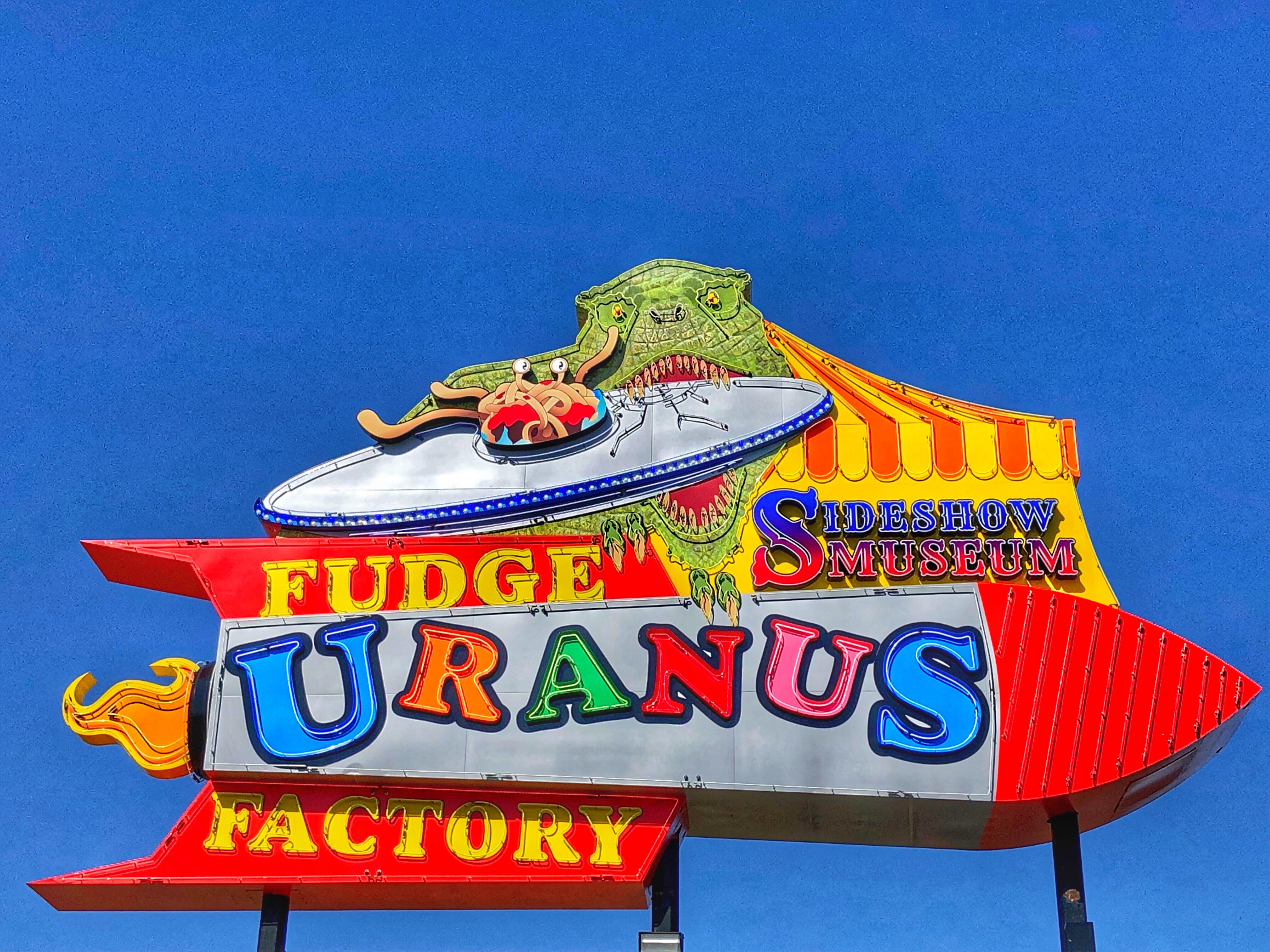 Route 66 Uranus Fudge Factory / Oh Fiddle Dee Dee
