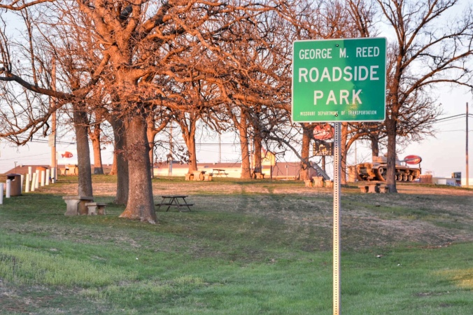 Route 66 Roadside Park / Oh FIddle Dee Dee