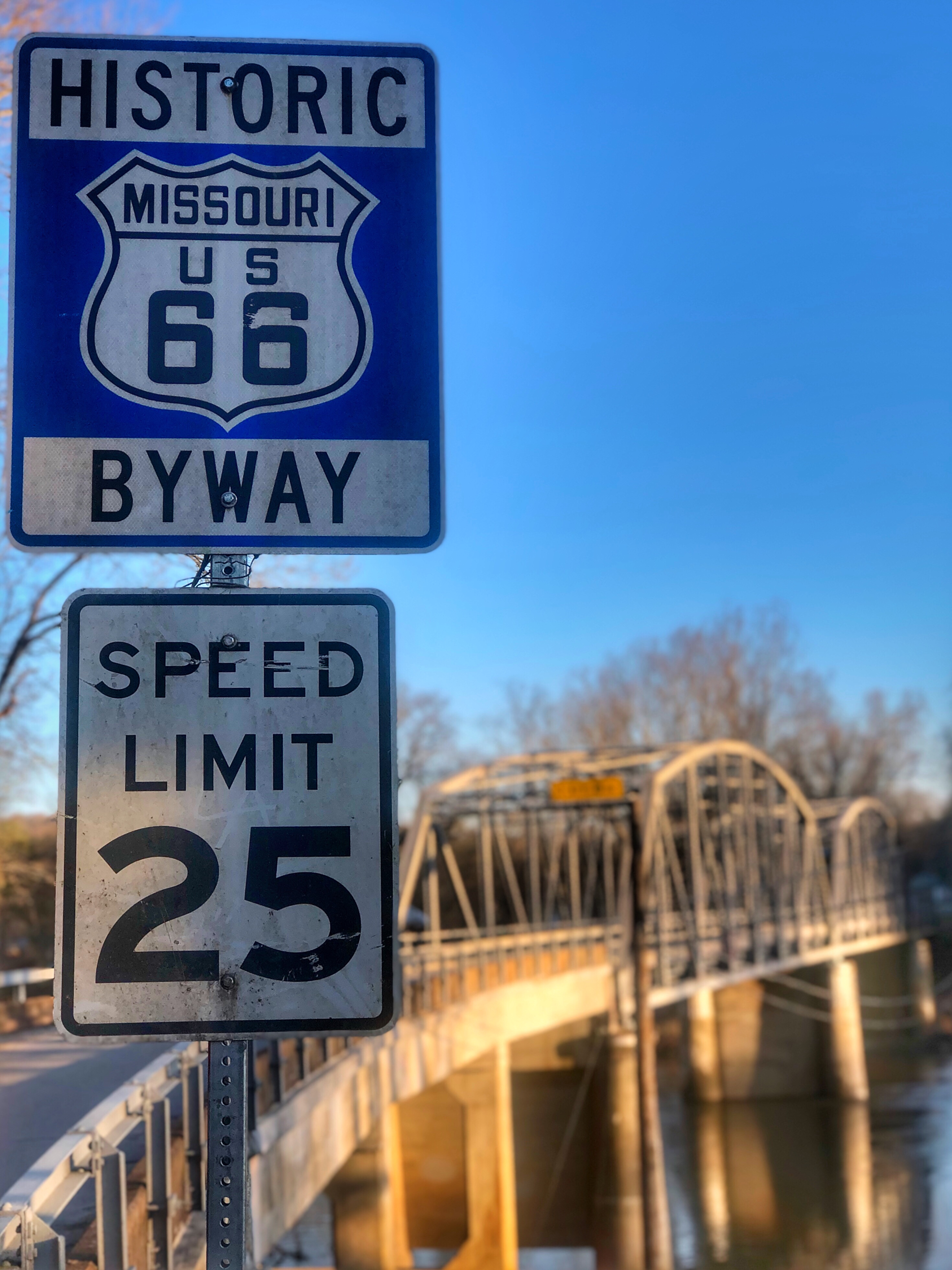Historic 66 Pulaski County Missouri / Oh Fiddle Dee Dee